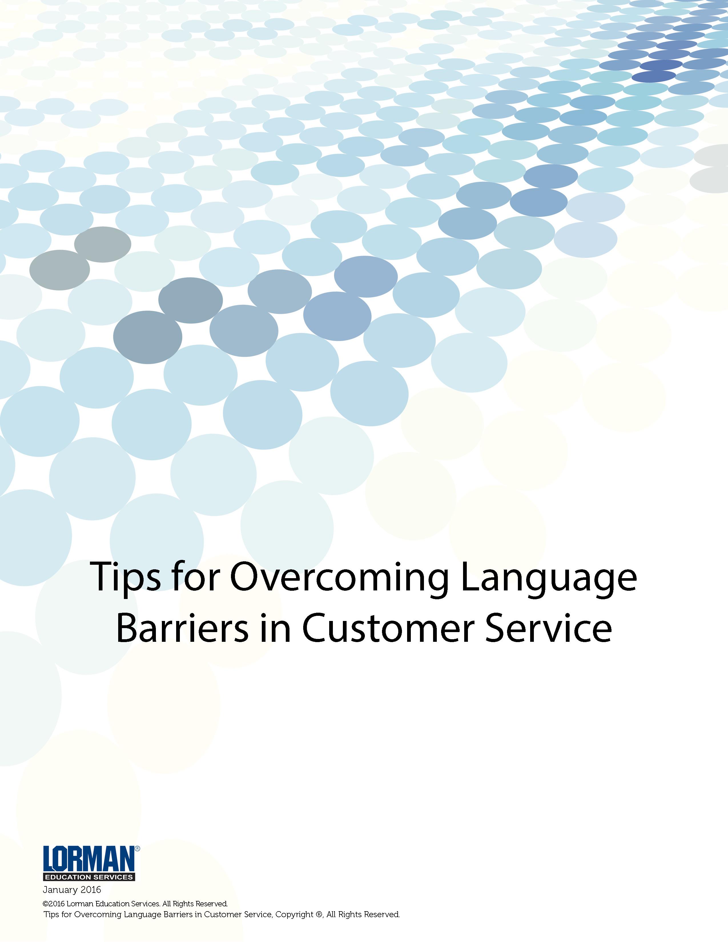 language barriers and customer service essay Patients with language barriers: the use of a language other than english at home has increased for the delivery of health care services.
